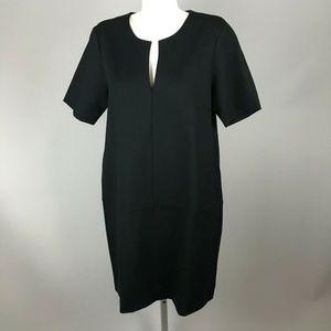 Everlane Black Short Sleeve Dress